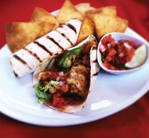 Village anchor fish tacos