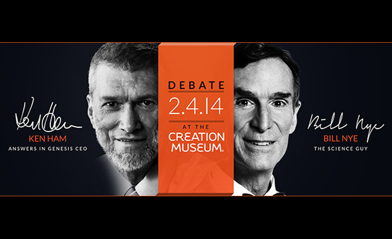 Bill nye vs ken ham