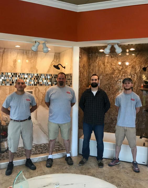 Re-Bath  Installation Team