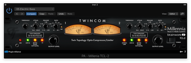 Twincom Electric Bass Preset