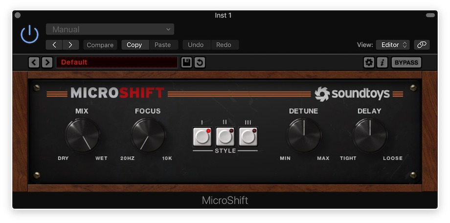 Soundtoys MicroShift Revew