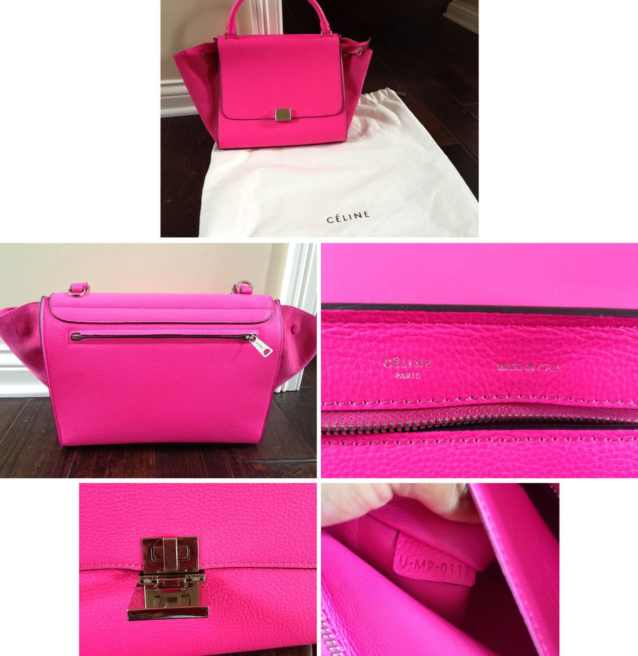 Celine Trapeze Luggage Bag Authentication Quiz | Lollipuff