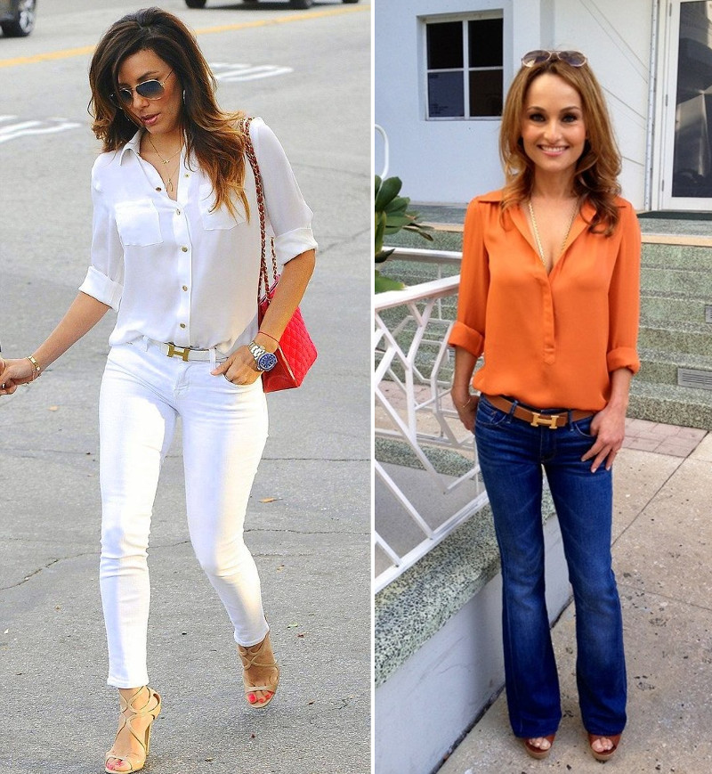 22 Ways That Celebrities Wear Hermes H Constance Belts