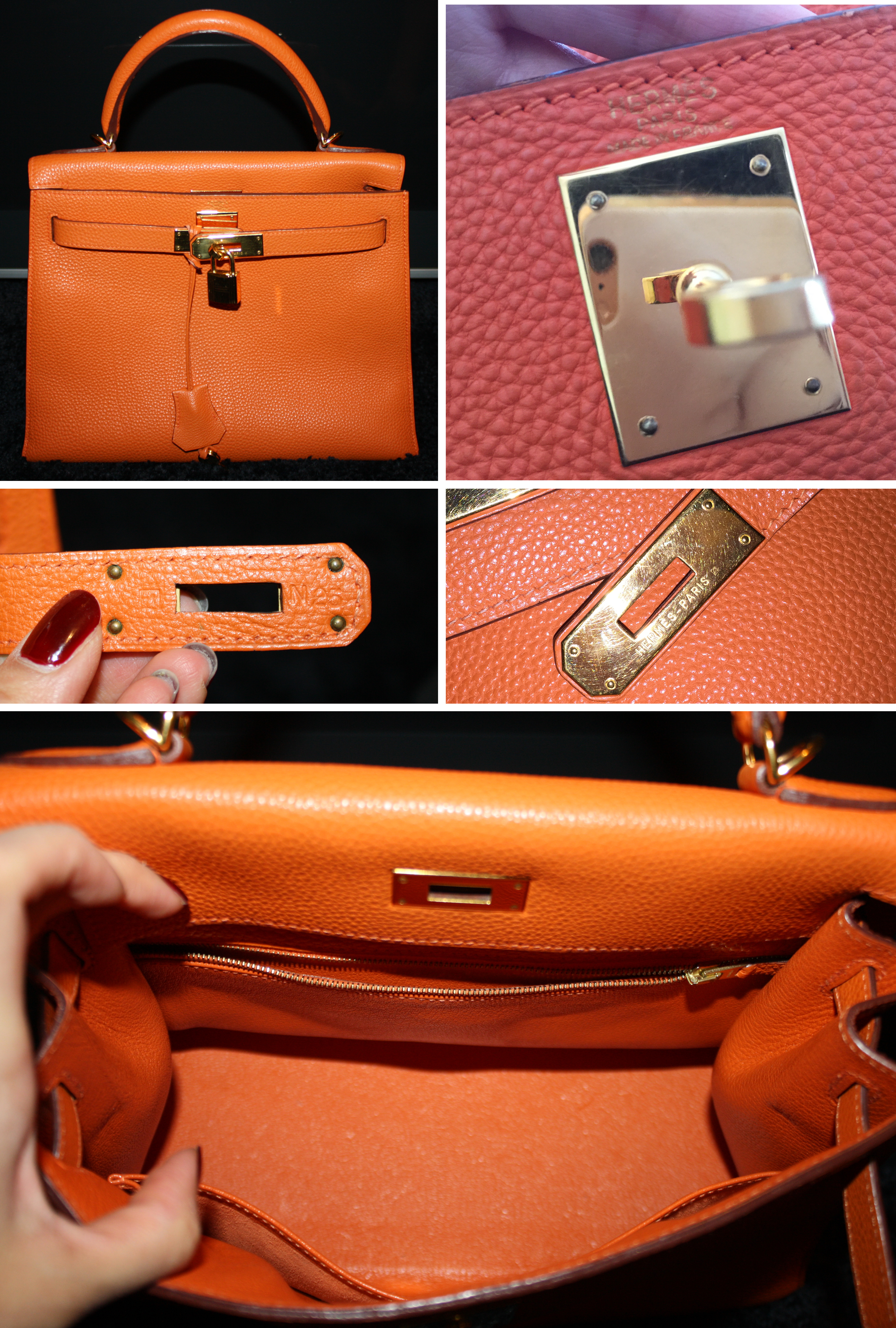 Is this Kelly bag authentic or counterfeit   Authentic Or Counterfeit 1332eda51e3ad