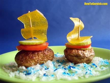 Potato boats