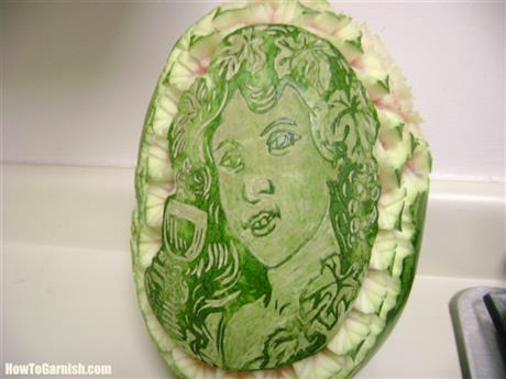 Wine festival melon