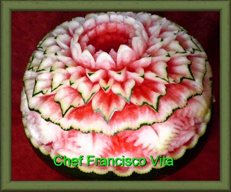 Watermelon Carving by www.cheffranciscovita.com.br