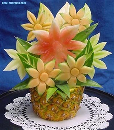 Edible Flower Pot
