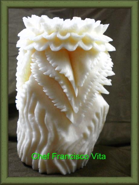 Cara's root carving - http://www.cheffranciscovita.com.br