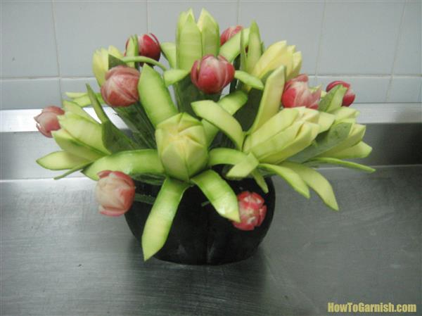 Vegetable flowers