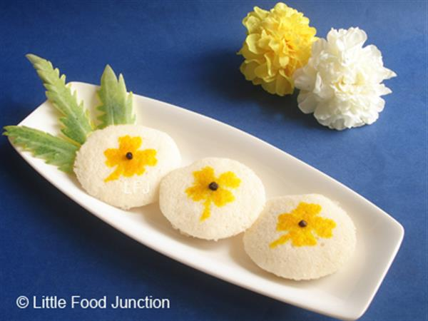 Flower Rice cakes