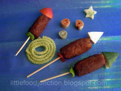 Edible fireworks