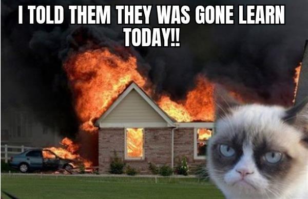 Burn Kitty
