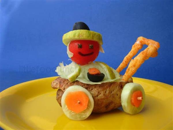 Potato pram