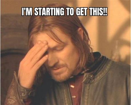 Frustrated Boromir