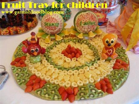 Fruit Tray For Kids