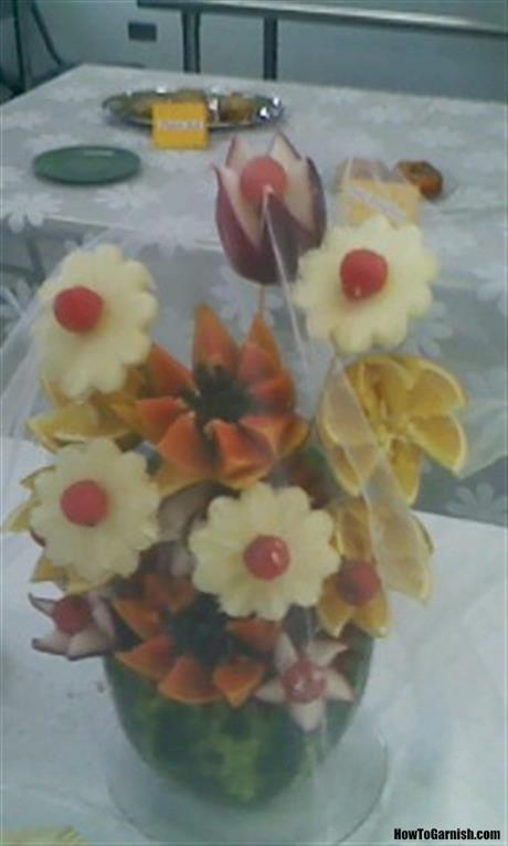 Fancy fruit flowers