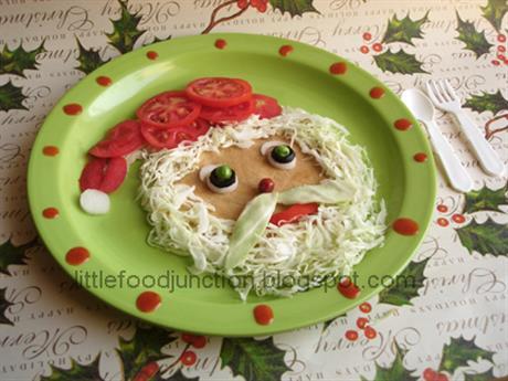 Santa Omelette