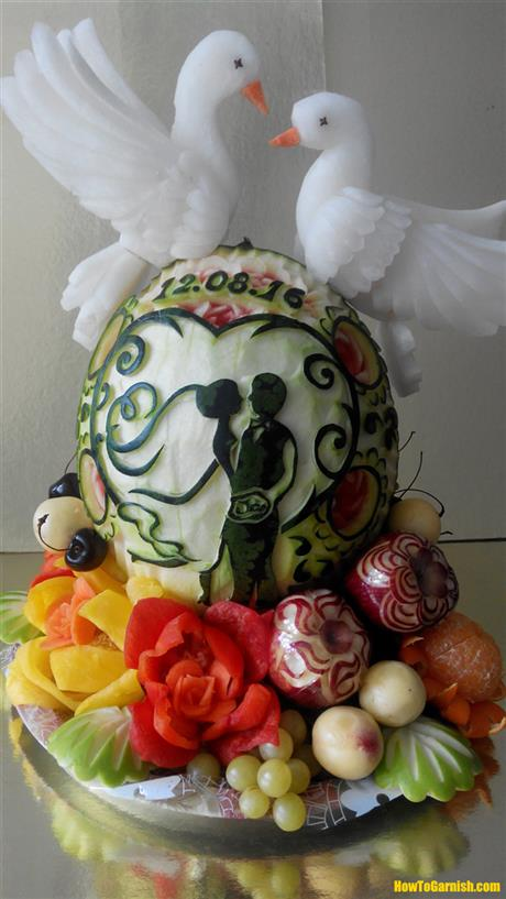 Watermelon Wedding Display