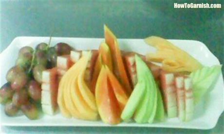 Decorative fruit platter 2
