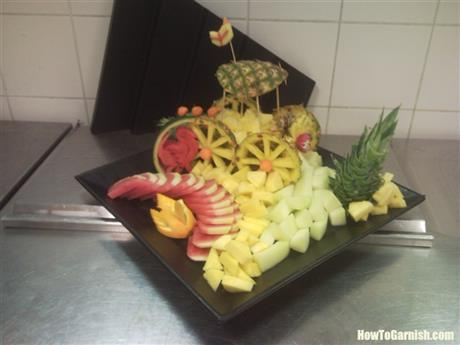 Fruit platefruits