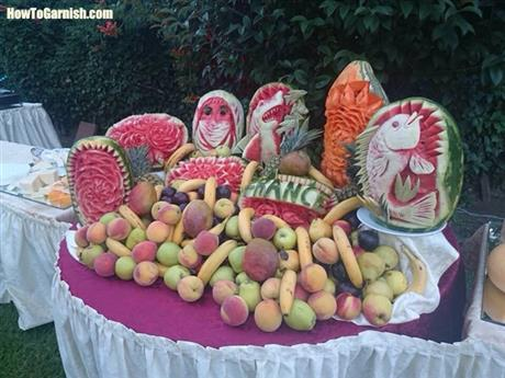 Desplay de fruits