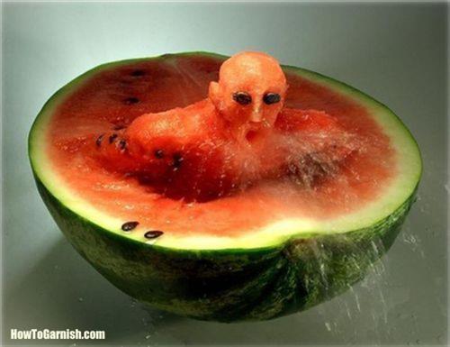 Melon Sculpture