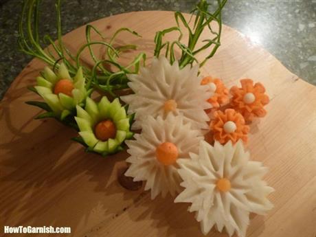 Groente Bloemen