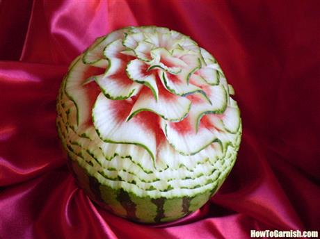 Watermelon Carving by Chef Francisco Vita
