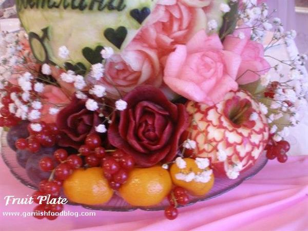 Fruit Plate For Pink Wedding