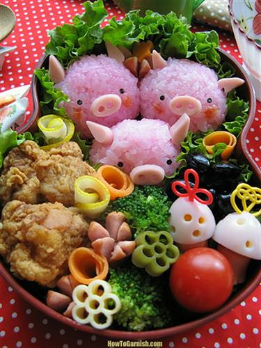 Lunch Box Piggies