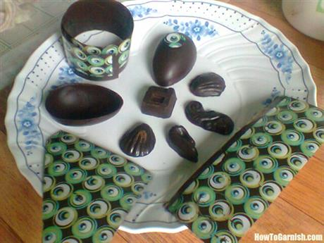 Chocolate art