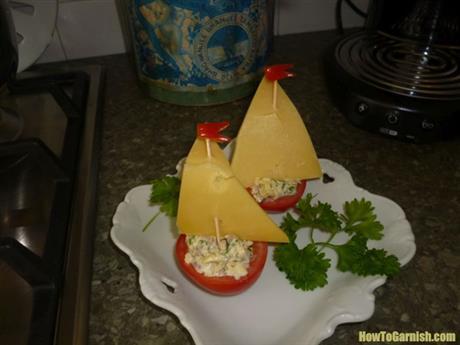 Tomaten bootje
