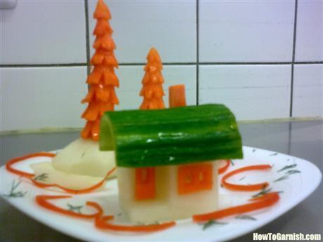 Radish house