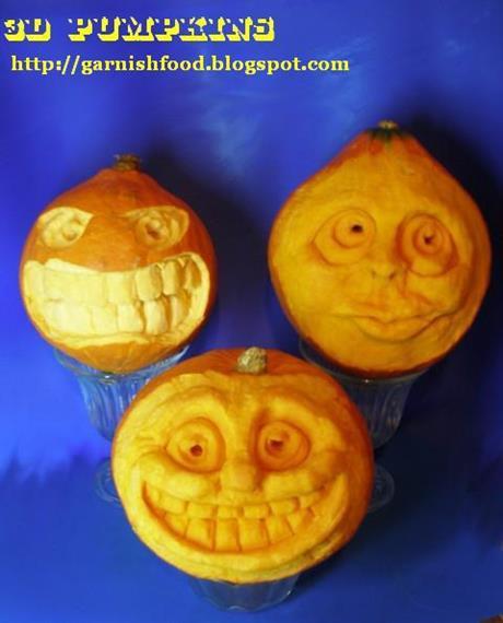 3D Pumpkin Gang