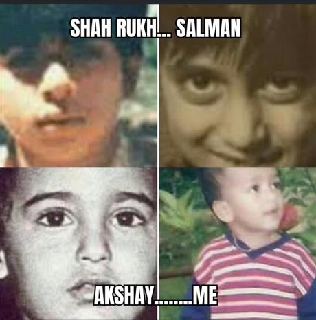 Childhood pics of some legends