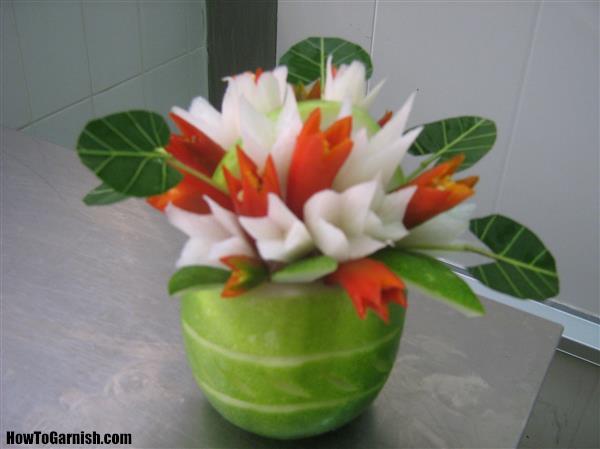 Chilly flower basket