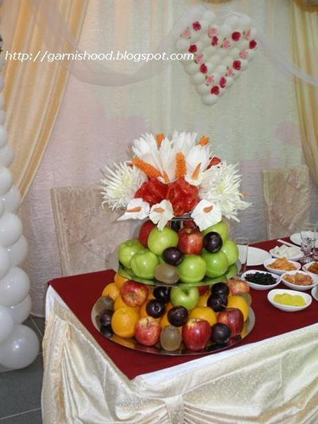 Wedding Food Arrangement