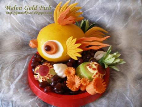 Melon Goldfish and Sea Treasure
