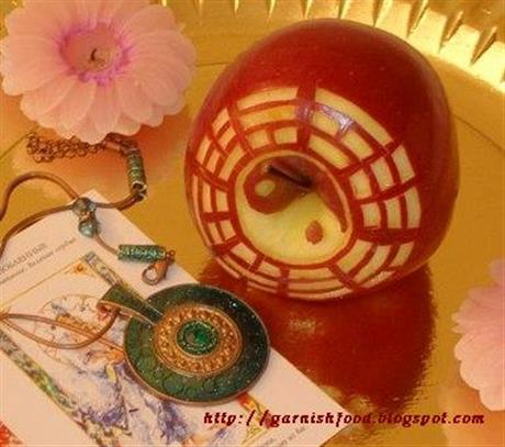 Feng Shui Apple Carving
