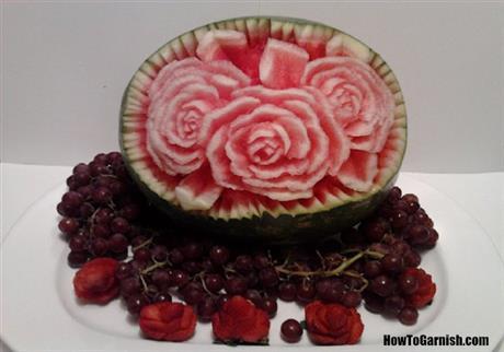 Watermelon Roses