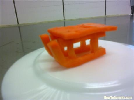 Carrot sleigh