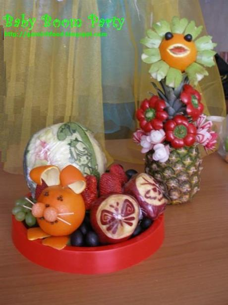 Baby Shower party fruits