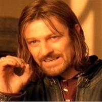 Boromir One Does Not Simply