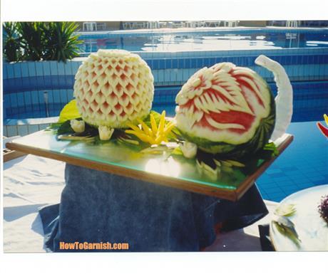 Color of watermelon