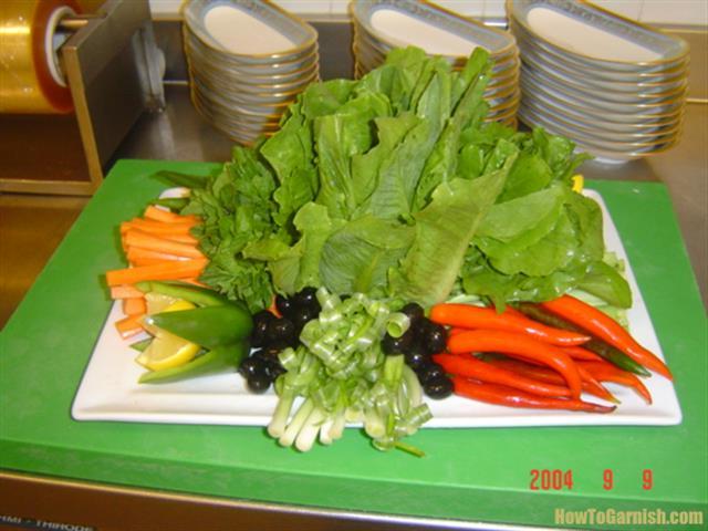 Lebanese Finger Salad
