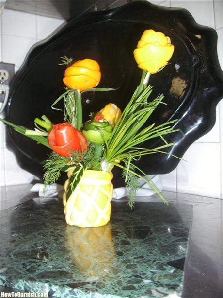 Flower vase(yello squash)