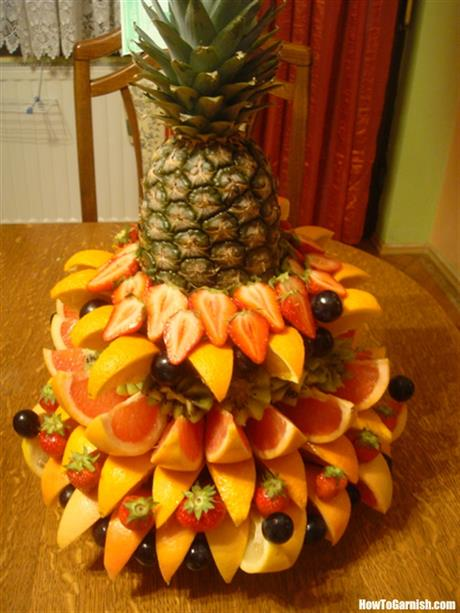 Fruit mix platter