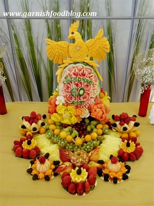 The Phoenix fruit display