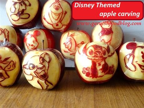 Disney Themed Apple Gifts
